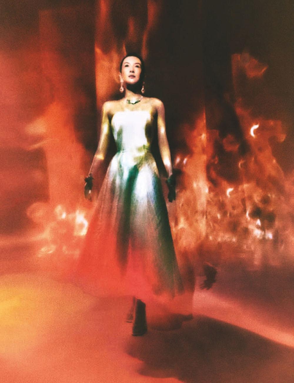 Zhang Ziyi covers Vogue China September 2020 by Elizaveta Porodina