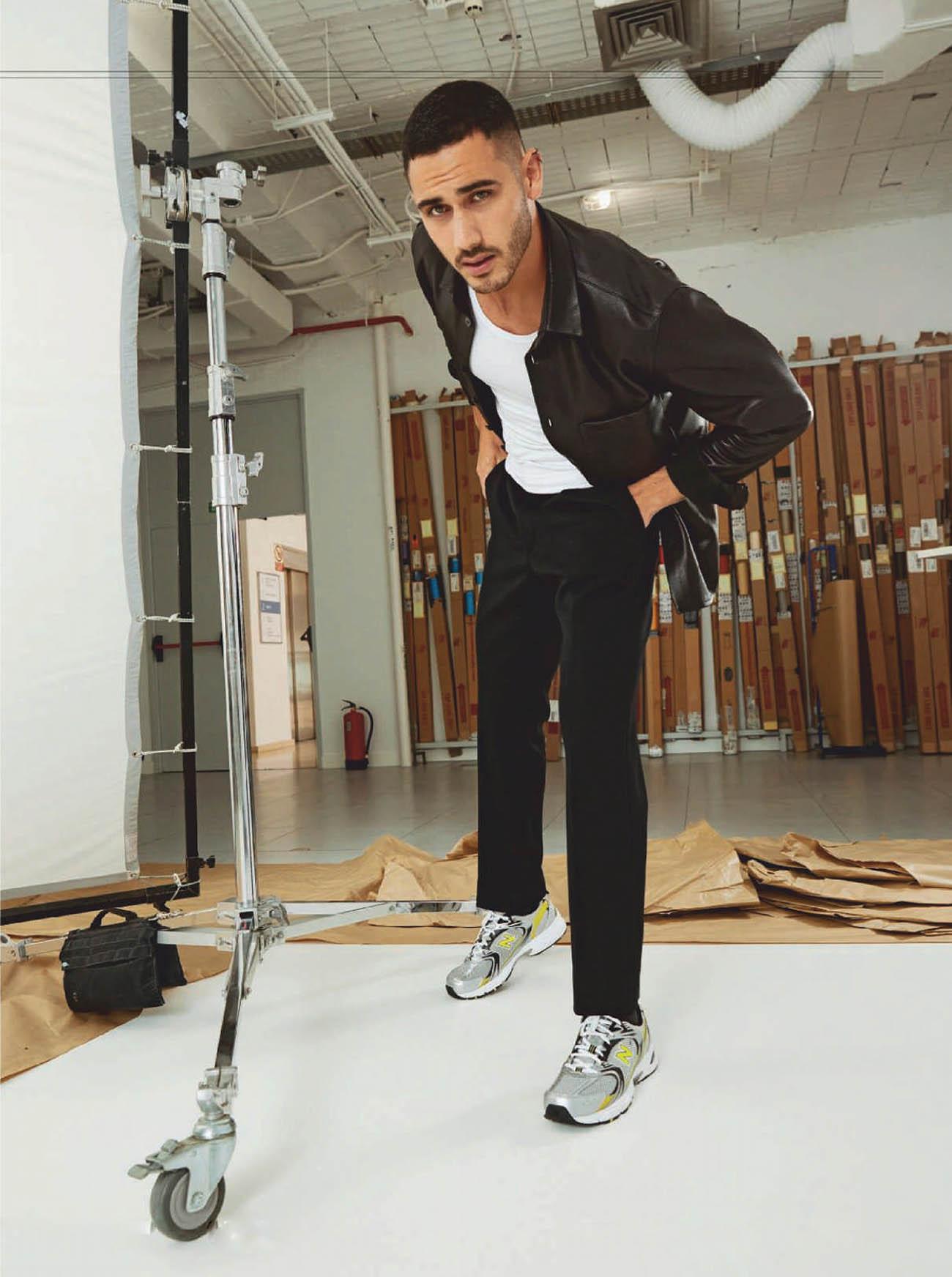 Alejandro Speitzer by Pablo Sarabia for Esquire Spain October 2020