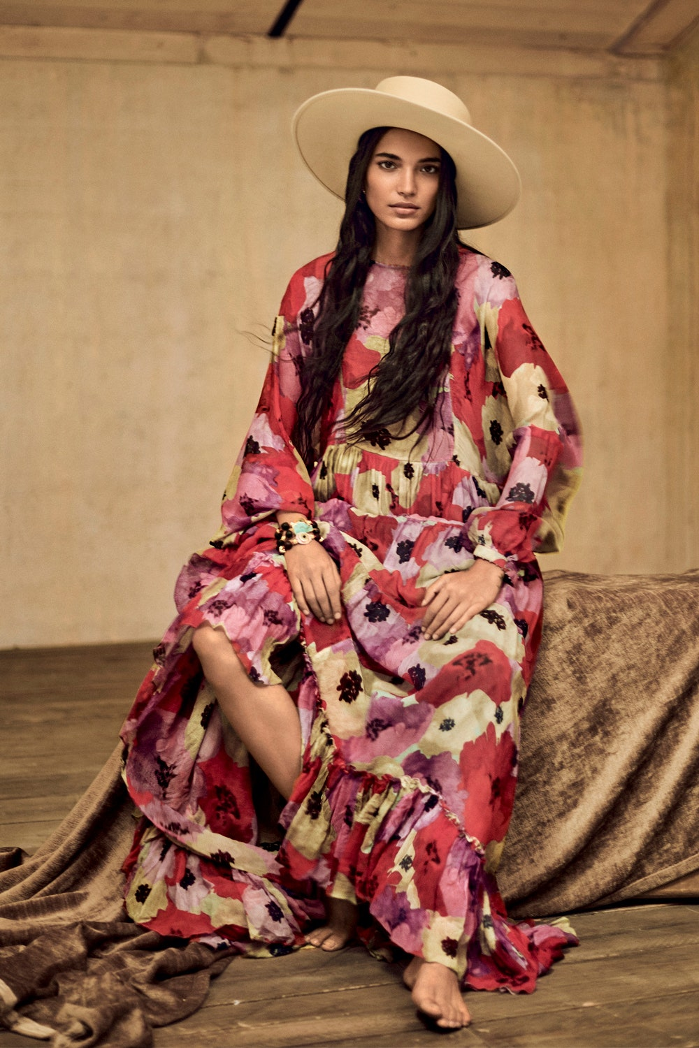 Amrit covers Vogue India October 2020 by Boo George