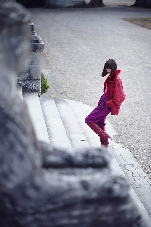 Aylah Peterson by Nathaniel Goldberg for Vogue Japan October 2020