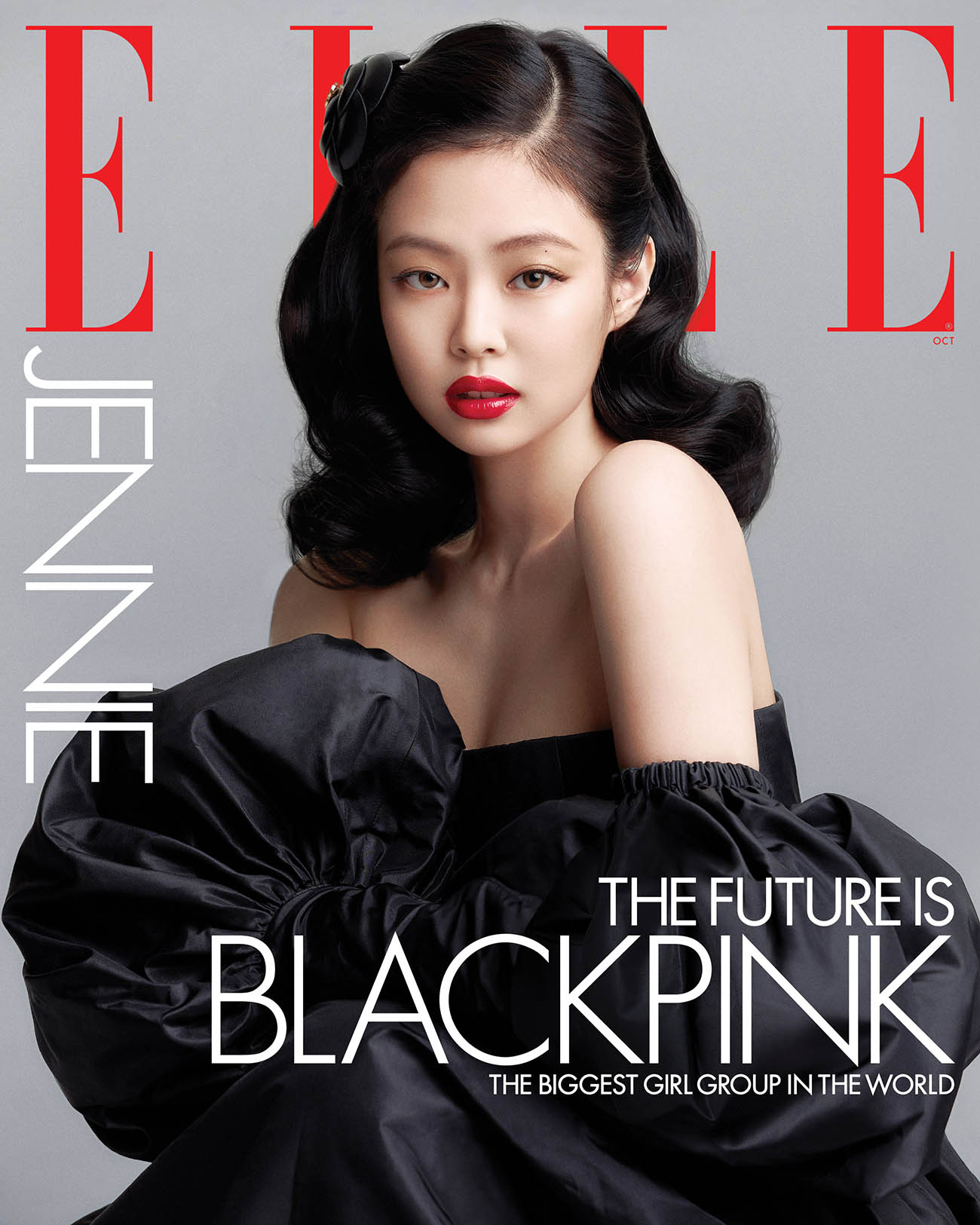 Blackpink covers Elle US October 2020 by Kim Hee June