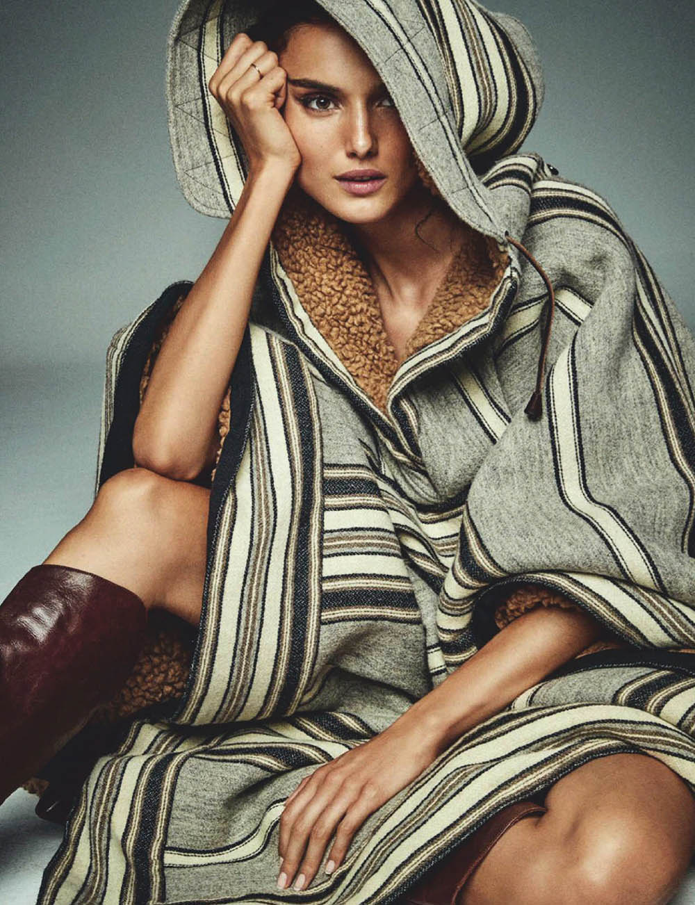 Blanca Padilla covers Elle Spain October 2020 by Mario Sierra