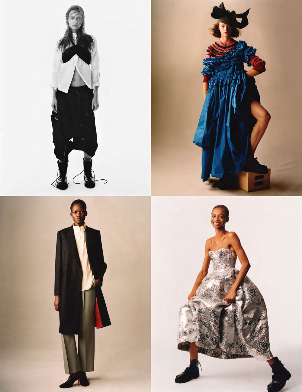 ''Brits' Spirit'' by Scott Trindle for British Vogue October 2020