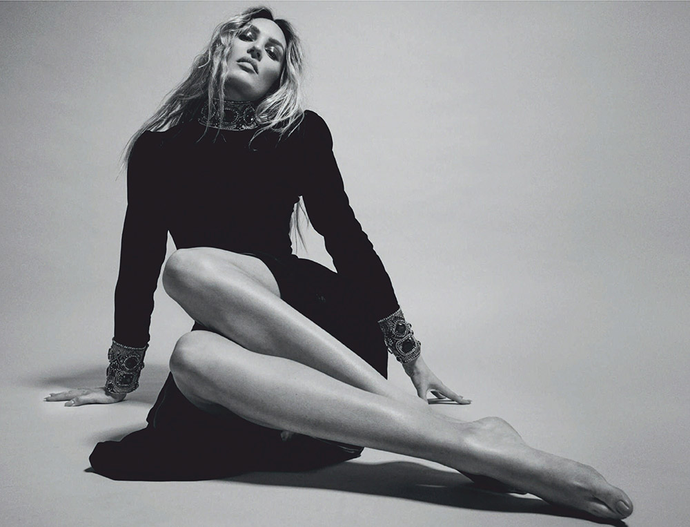 Candice Swanepoel covers Harper's Bazaar Spain October 2020 by David Roemer