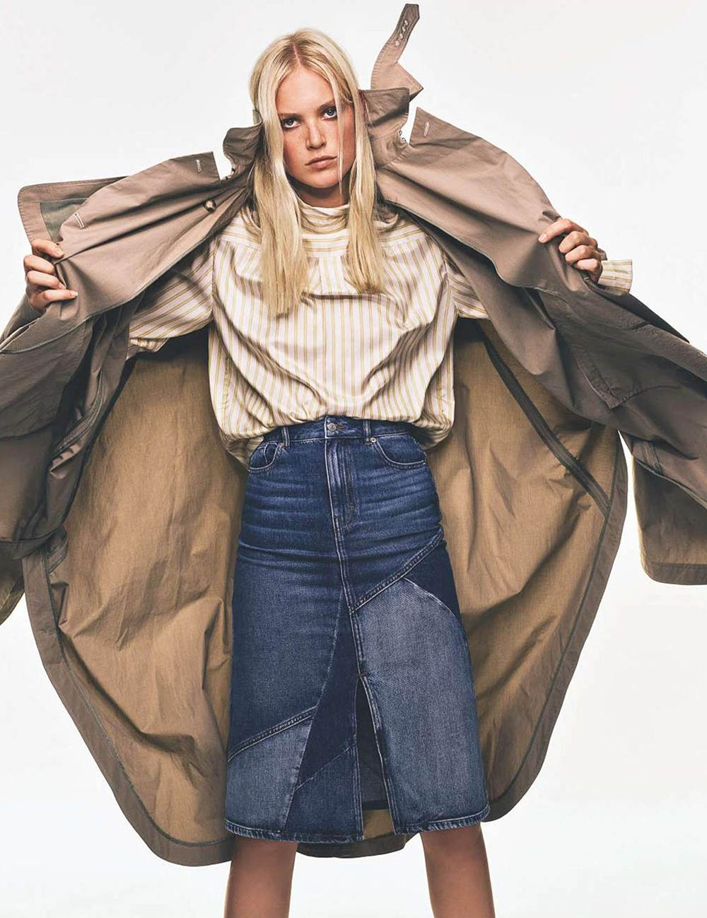 Charlene Högger by Gregory Derkenne for Elle France October 2nd, 2020