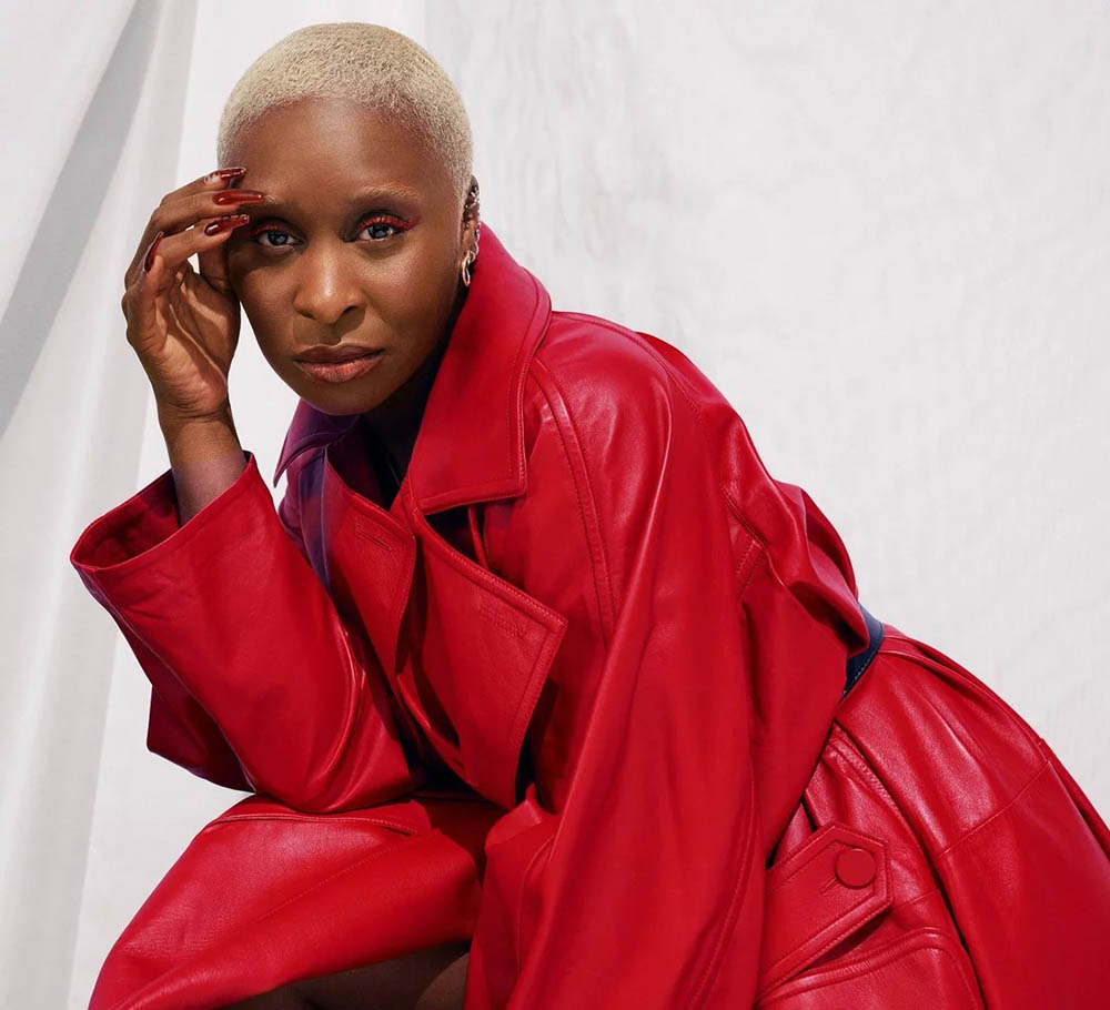 Cynthia Erivo covers InStyle US October 2020 by Joshua Kissi