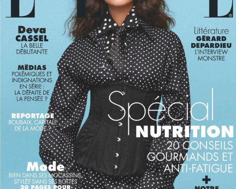 Deva Cassel covers Elle France October 9th, 2020 by Jonas Bresnan