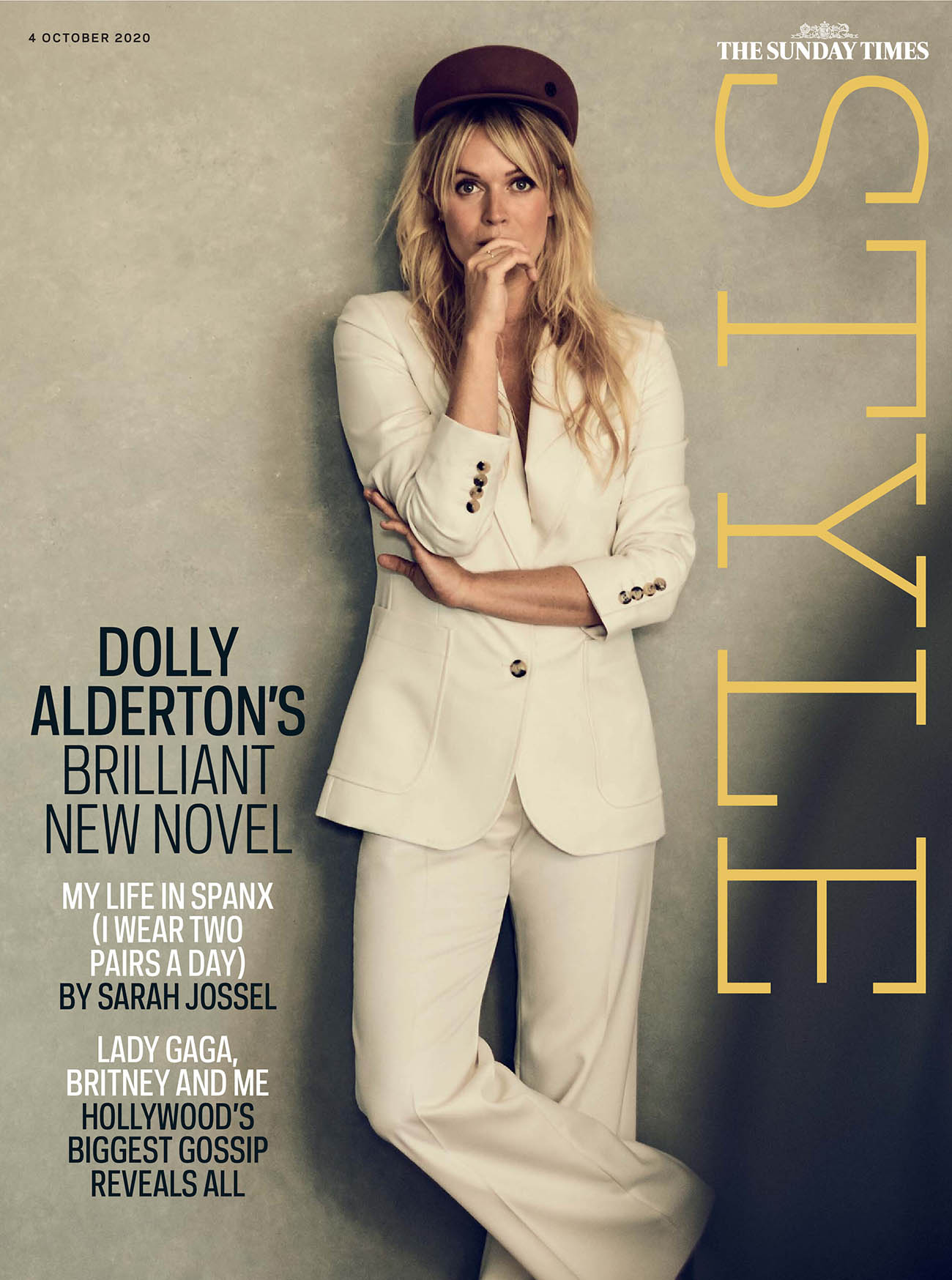 Dolly Alderton covers The Sunday Times Style October 4th, 2020 by Boo George