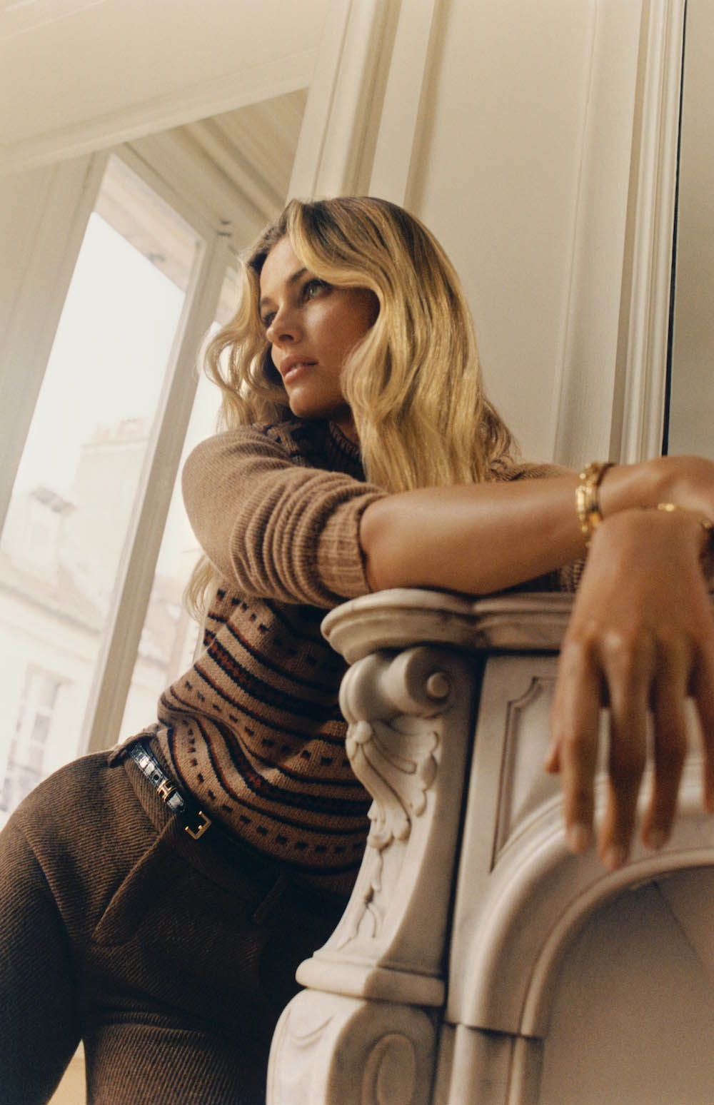 Edita Vilkeviciute by Quentin De Briey for Vogue Paris October 2020