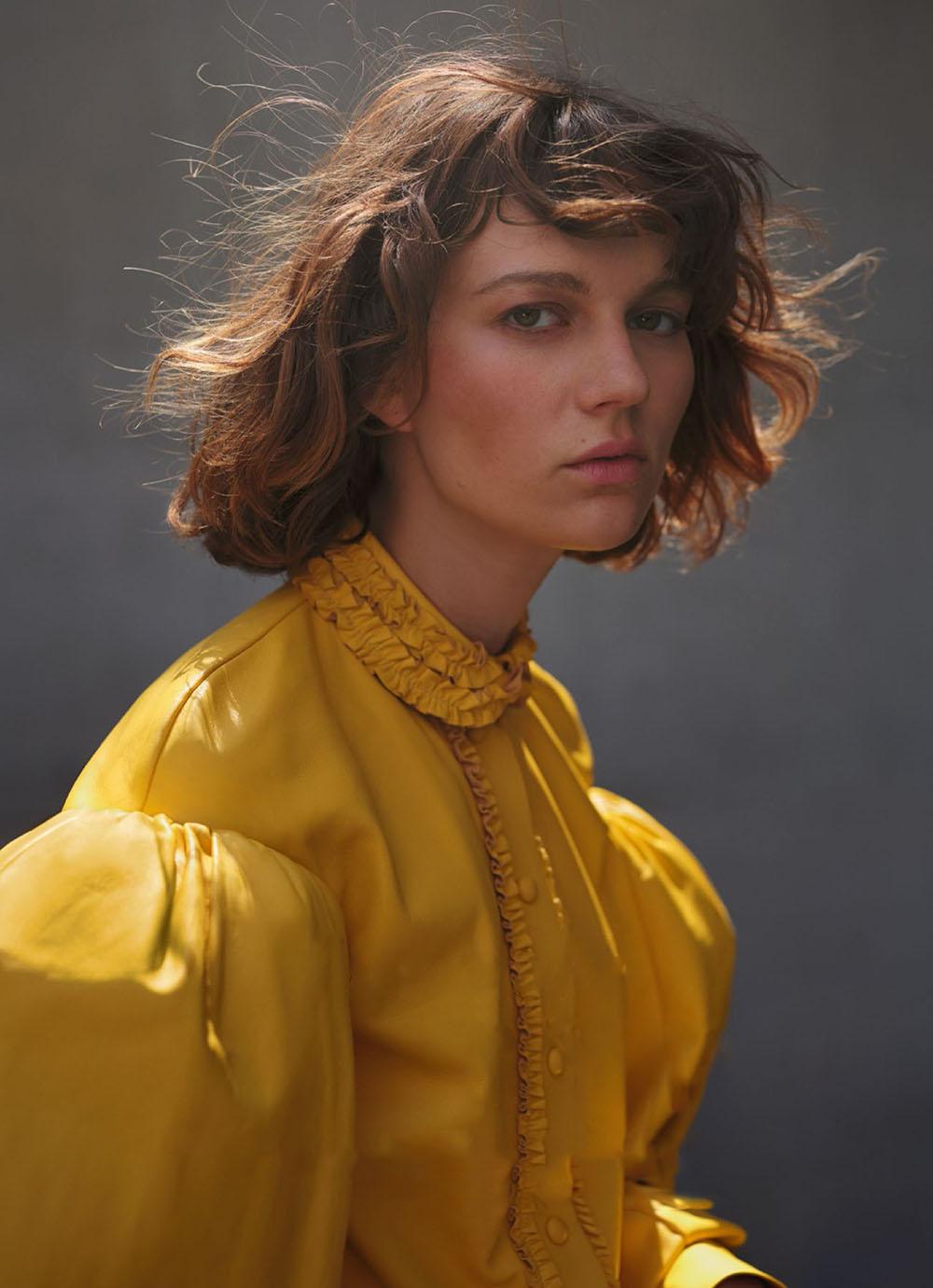 Ellen de Weer by Guillaume Millet for Marie Claire Australia October 2020
