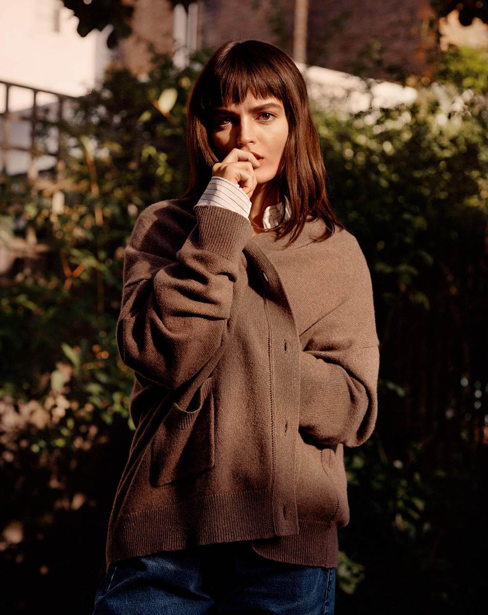 Emma Mackey covers Porter Magazine October 5th, 2020 by Ben Weller