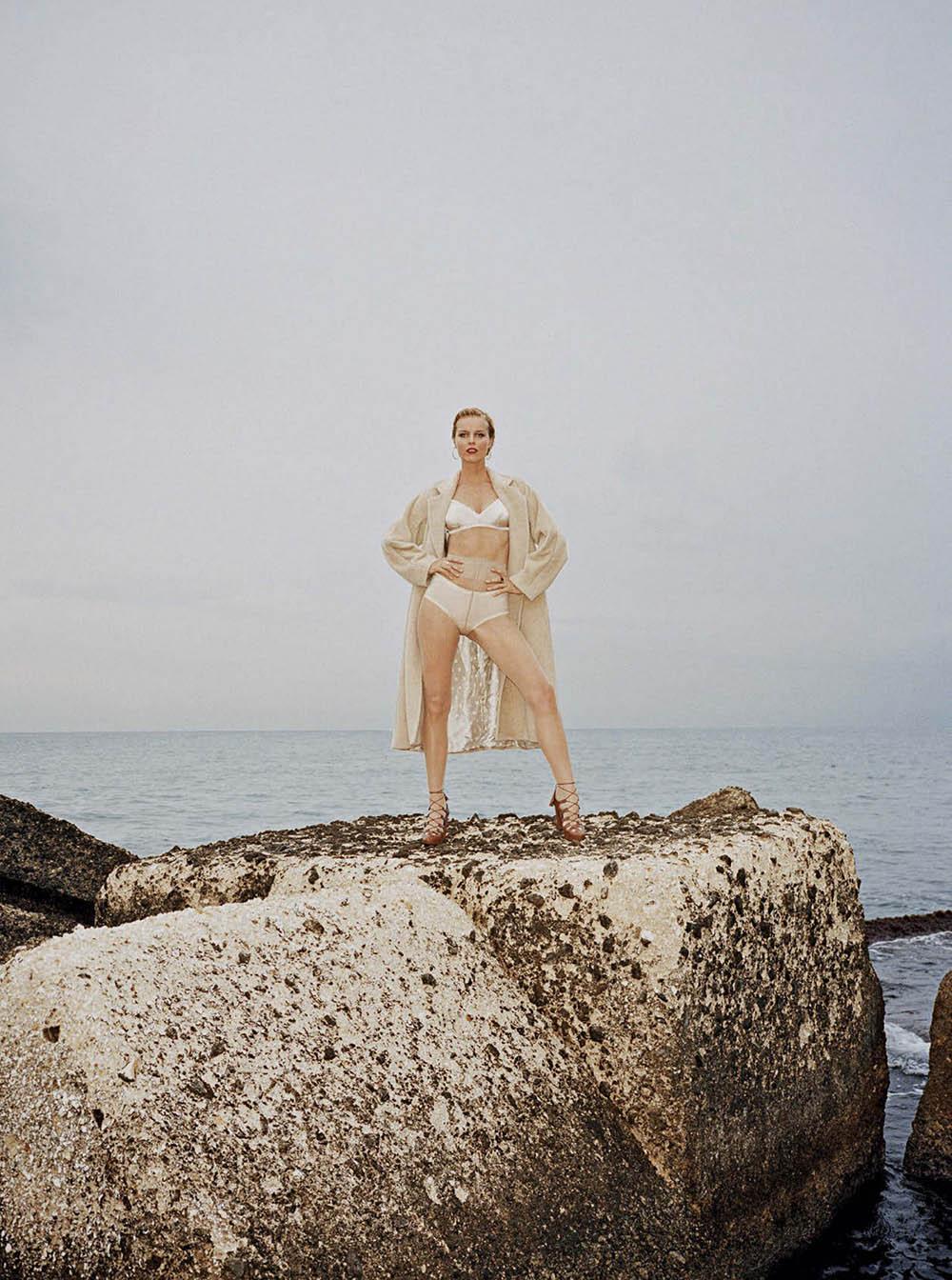 Eva Herzigova by Angelo Pennetta for Vogue Italia October 2020