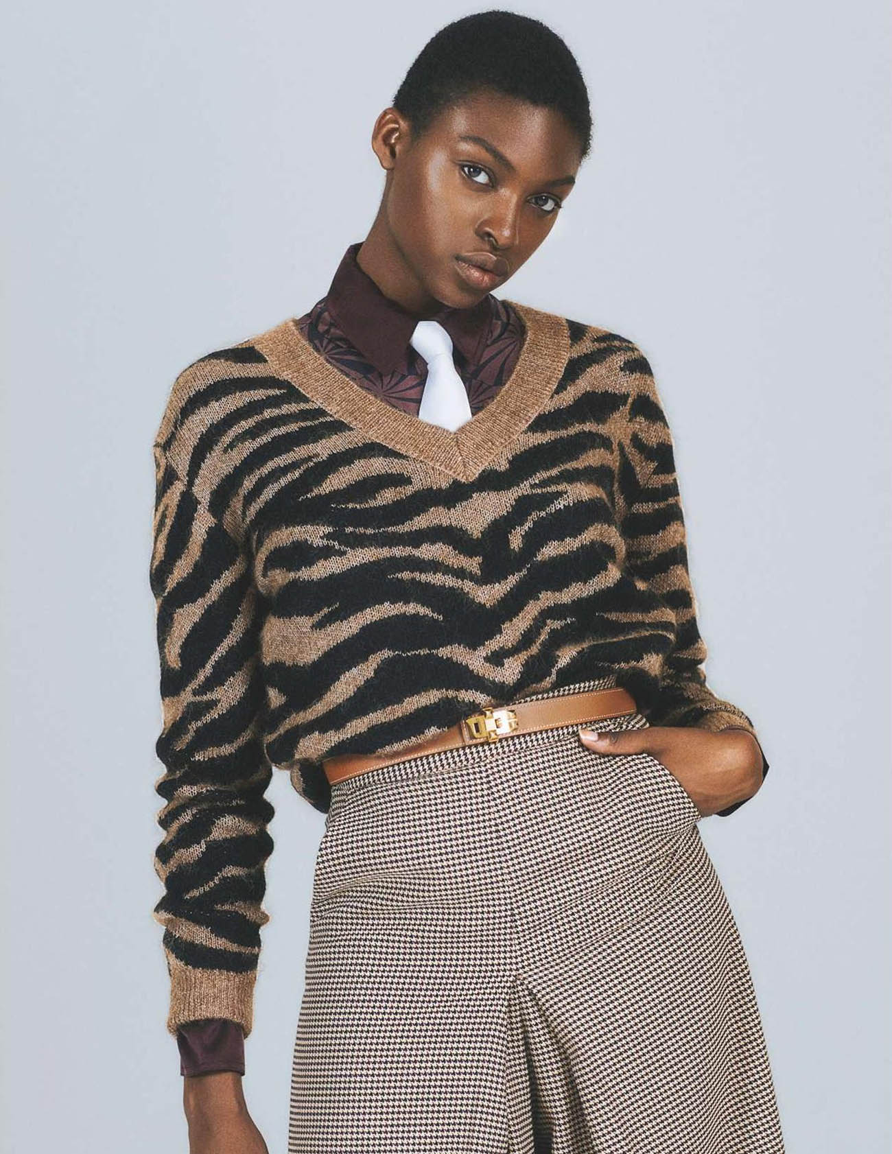 Exaucée De Dieu Makuiza by Stephanie Pfaender for Elle France October 2nd, 2020