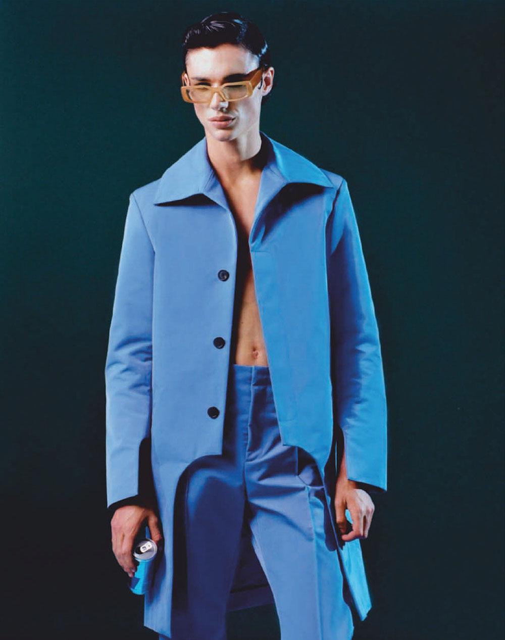 Fernando Lindez by Fernando Uceda for Esquire Spain October 2020