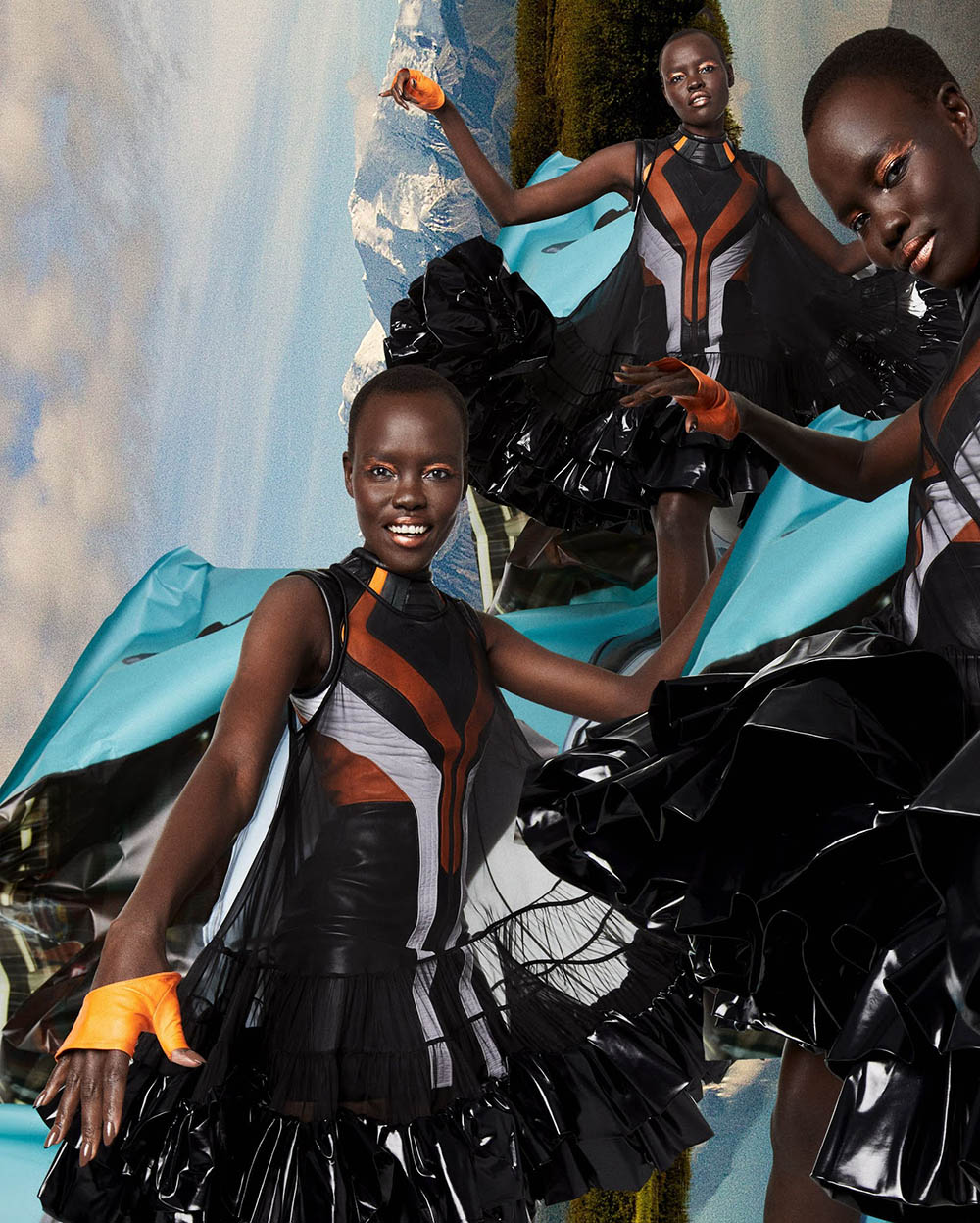 Grace Bol by Quentin Jones for Marie Claire US Fall 2020