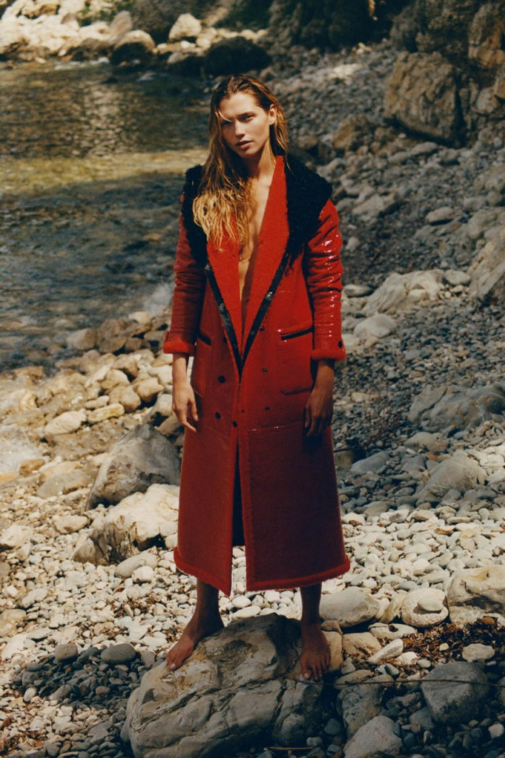 Hana Jirickova by Henrik Purienne for Vogue Paris October 2020