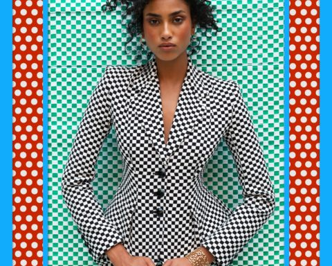 Imaan Hammam by Hassan Hajjaj for Vanity Fair October 2020