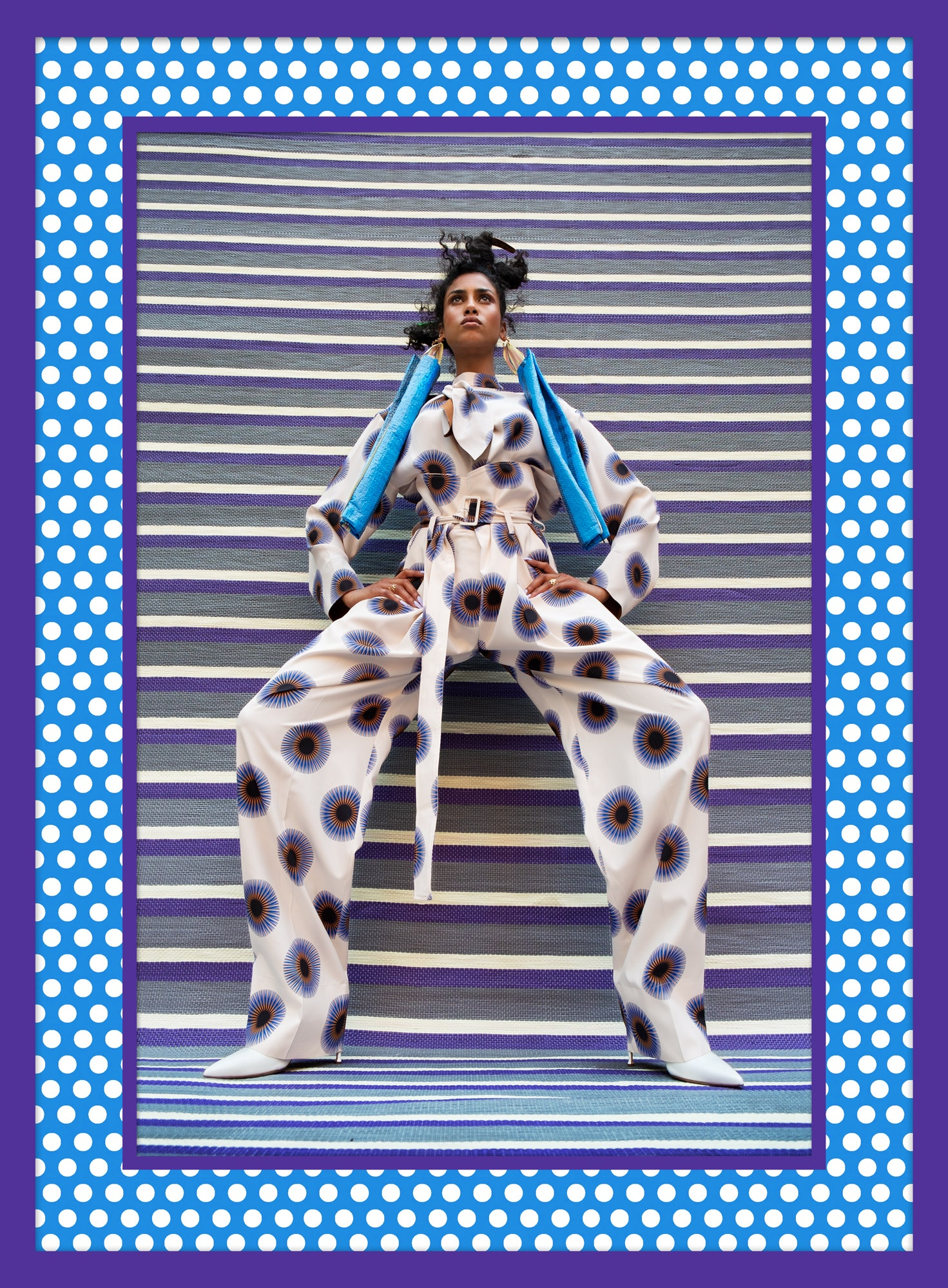 Imaan Hammam by Hassan Hajjaj for Vanity Fair October 2020
