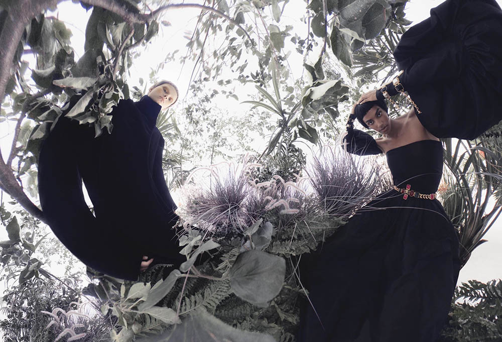 ''Into the Woods'' by Sølve Sundsbø for V Magazine Fall 2020