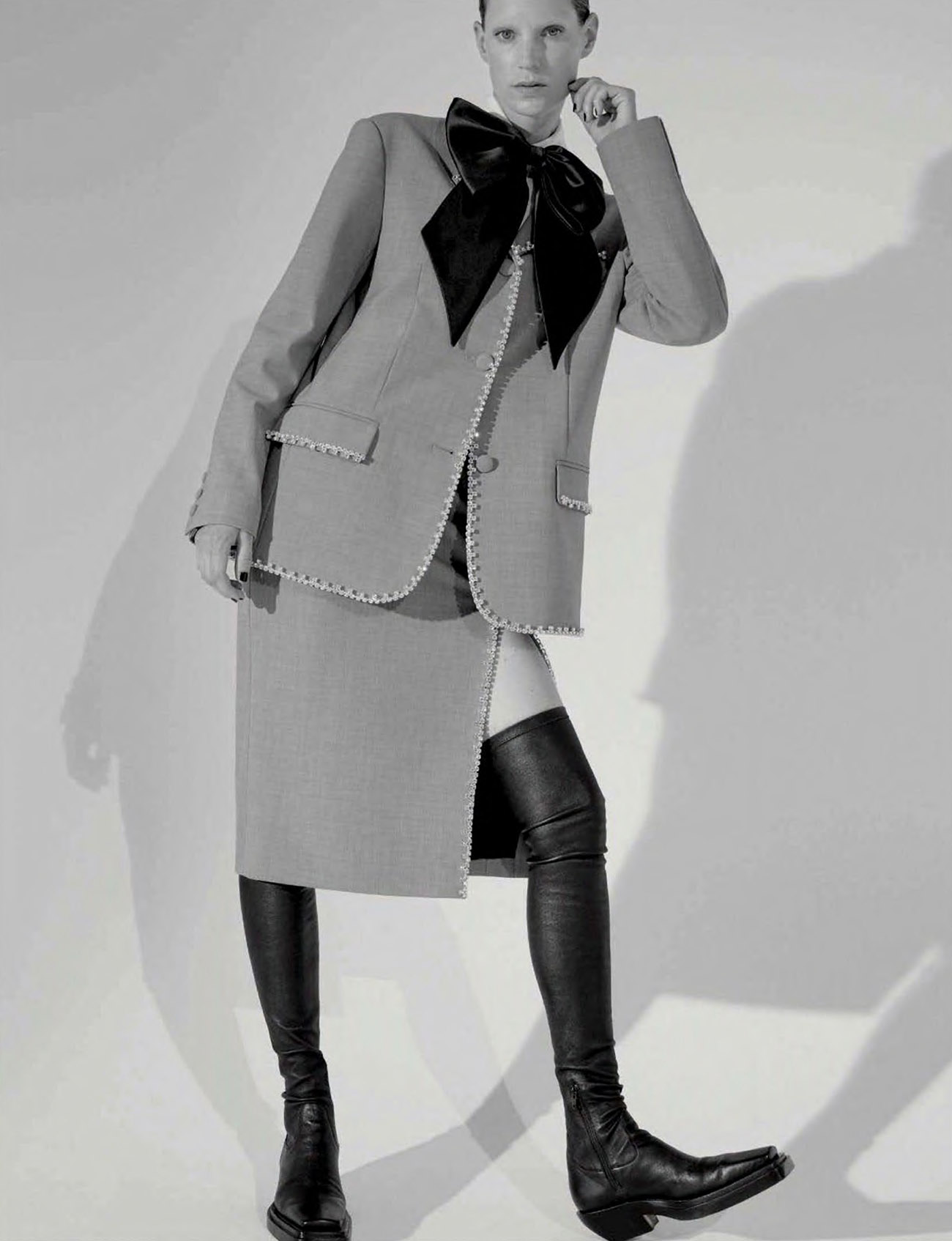 Iris Strubegger by Nicole Maria Winkler for Vogue Germany October 2020