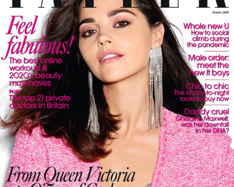 Jenna Coleman covers Tatler UK October 2020 by Claire Rothstein
