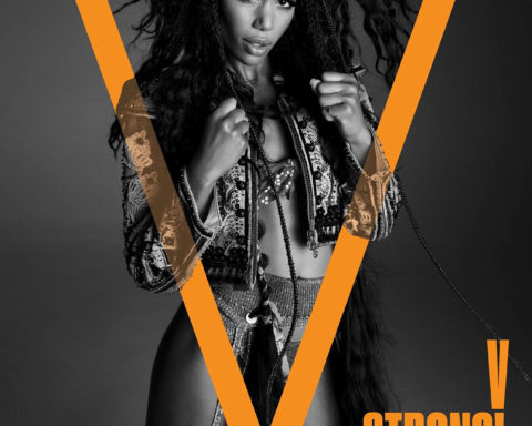 Laura Harrier covers V Magazine Fall 2020 by Inez and Vinoodh