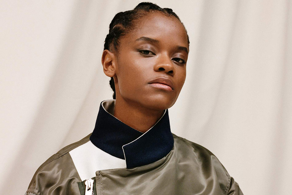 Letitia Wright covers Porter Magazine October 19th, 2020 by Ekua King