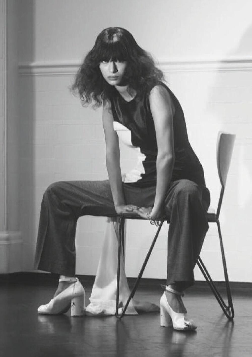 Leyla Greiss by Adrian Samson for Wallpaper* Magazine October 2020