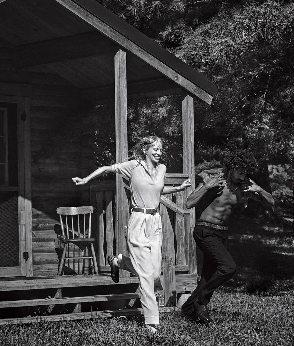 Lili Sumner covers WSJ. Magazine October 2020 by Christian Macdonald