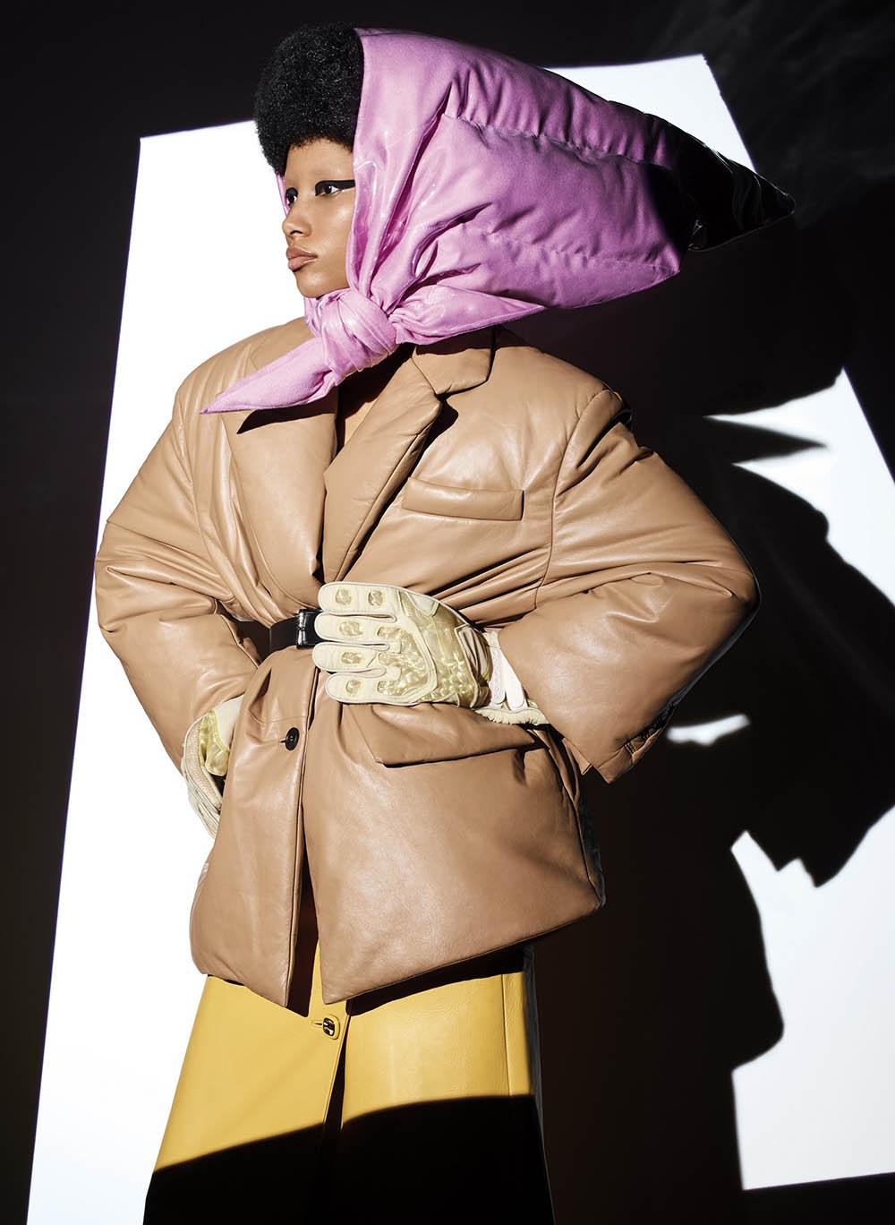 Lineisy Montero by Richard Burbridge for V Magazine Fall 2020