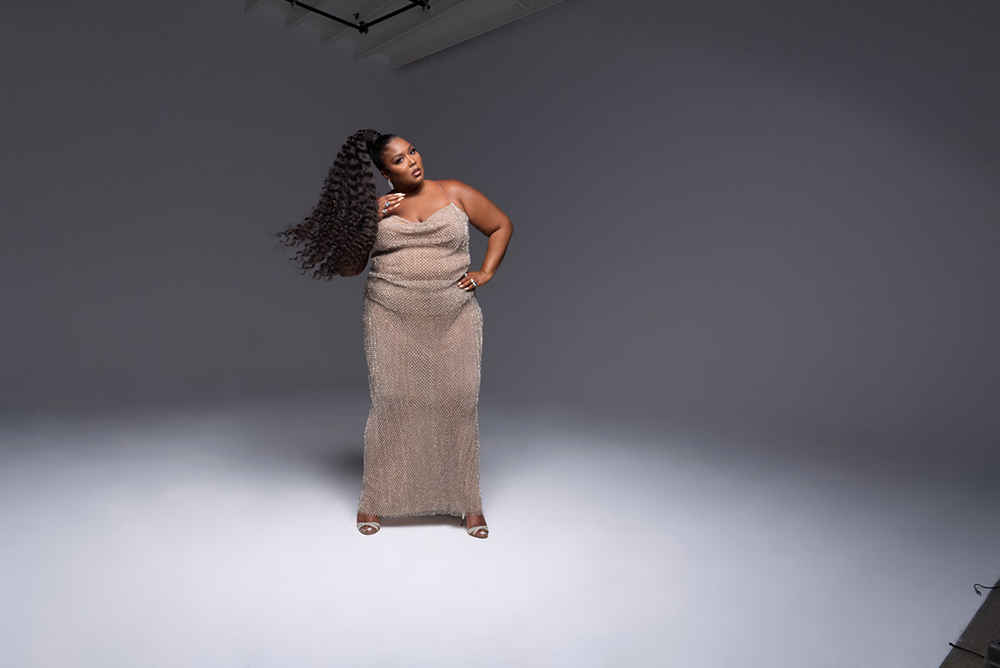 Lizzo covers Vogue US October 2020 by Hype Williams