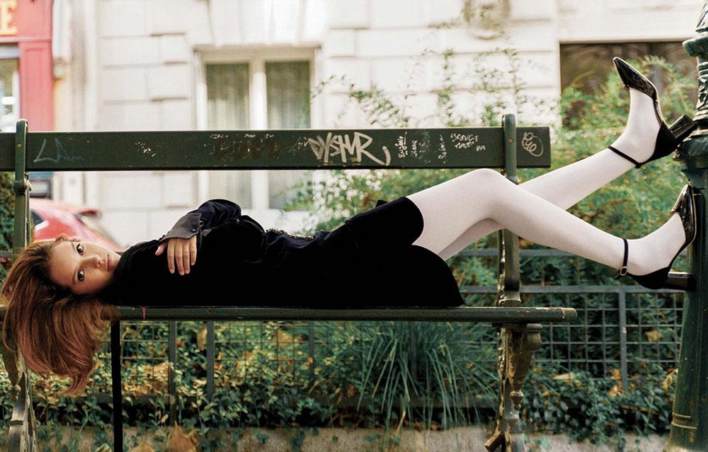 Lyna Khoudri by Marili Andre for L'Officiel USA Fall 2020