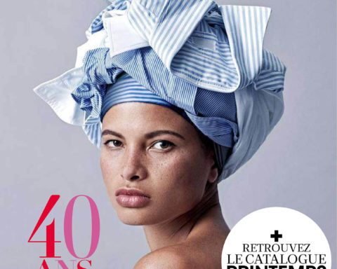 Madame Figaro October 16th, 2020 issue celebrates the 40th anniversary of the magazine