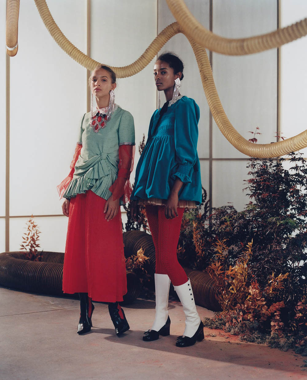 ''Magical Fall'' by Campbell Addy for WSJ. Magazine October 2020
