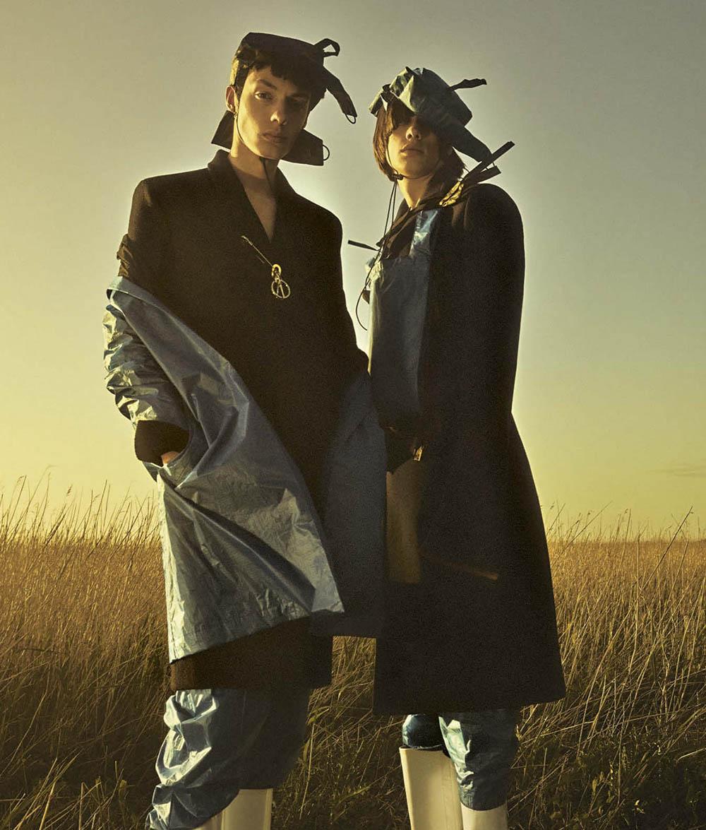 Magnus Villemoes covers L'Uomo Vogue October 2020 by Casper Sejersen
