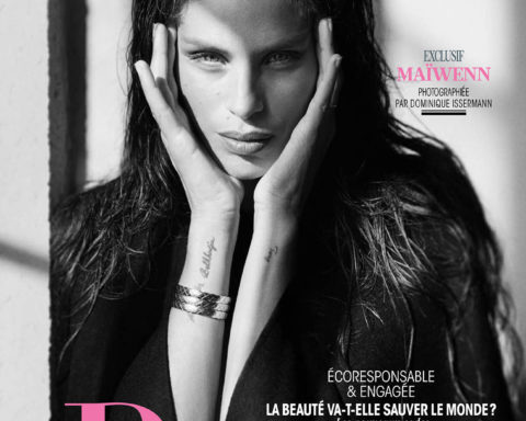 Maïwenn covers Madame Figaro October 23rd, 2020 by Dominique Issermann