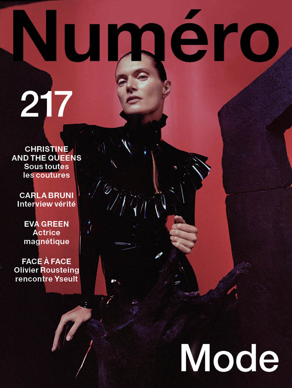 Małgosia Bela covers Numéro October 2020 by Dan Beleiu