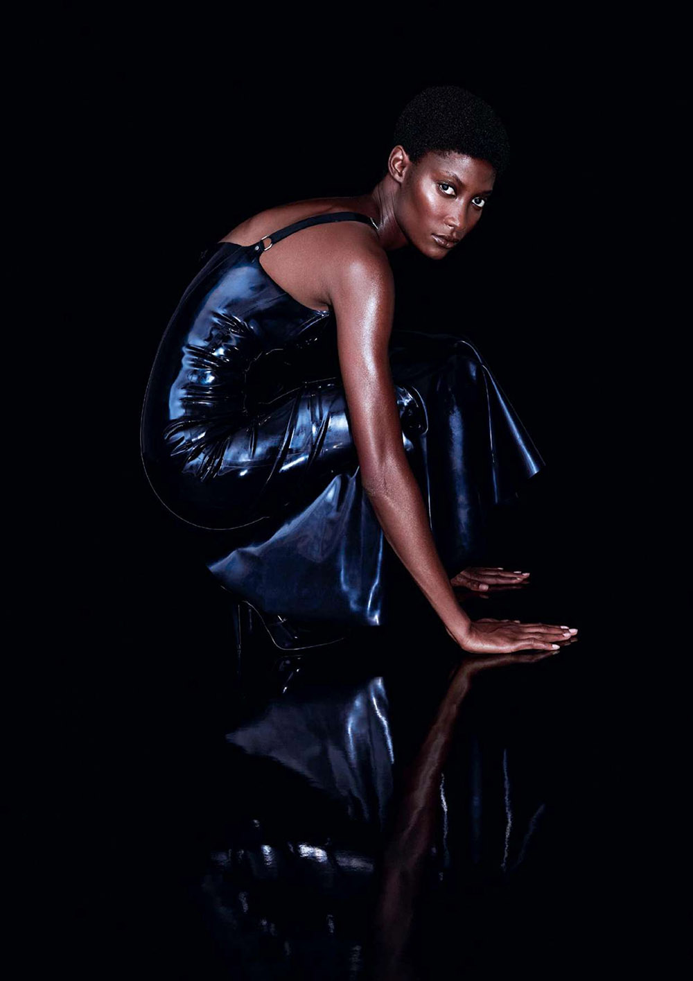 Mame Thiane Camara by Meinke Klein for Elle UK October 2020
