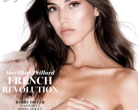 Marilhéa Peillard covers Maxim US September-October 2020 by Gilles Bensimon
