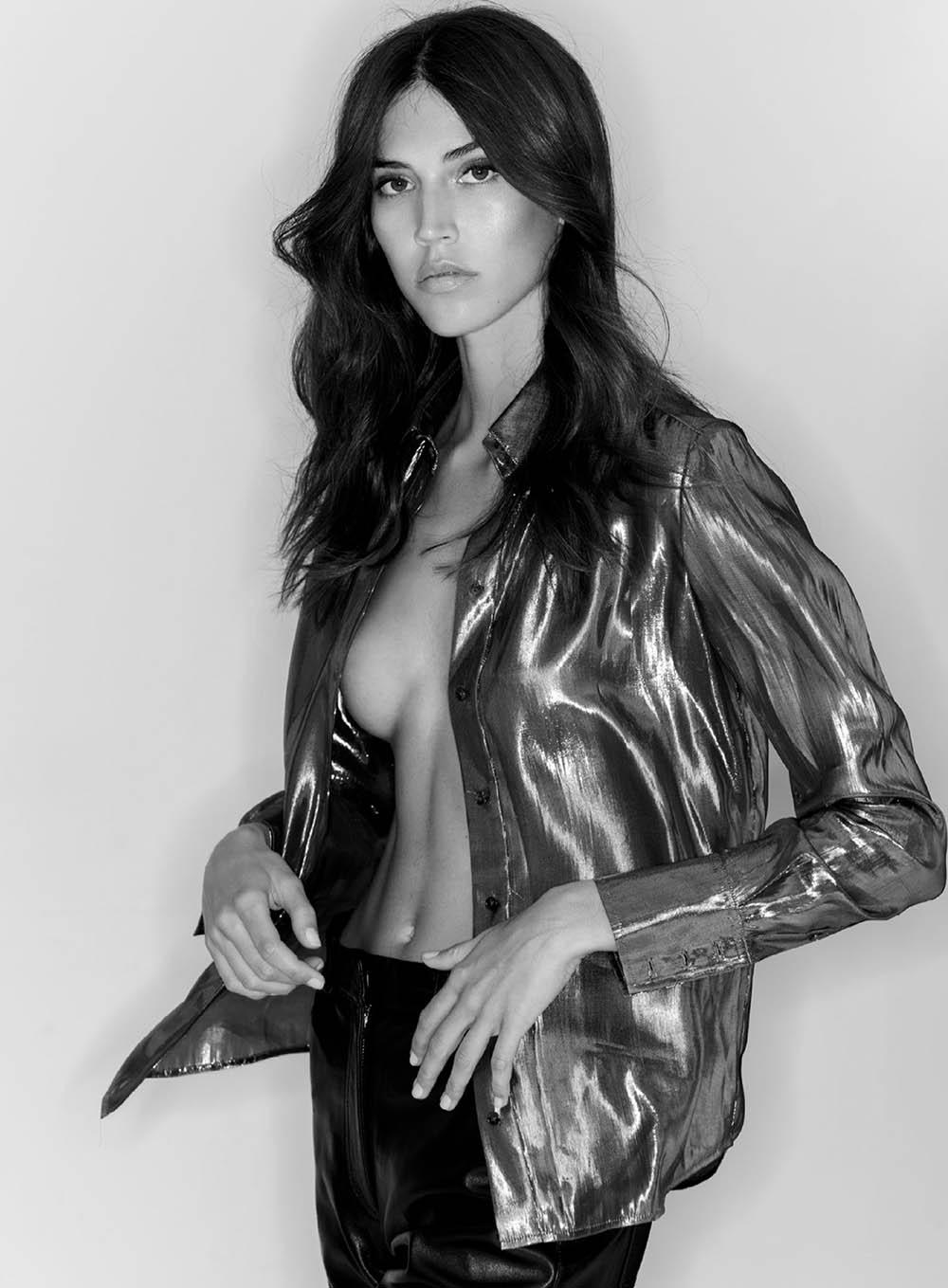 Marilhéa Peillard covers Maxim US September-October 2020 by Gilles Bensimon