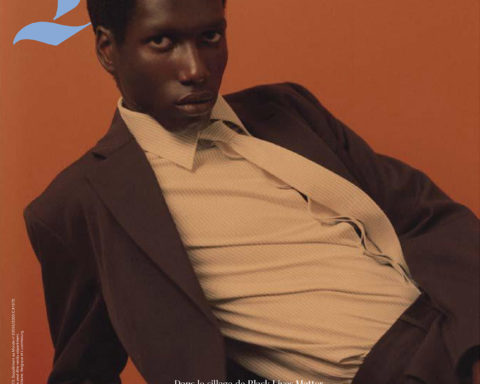 Marius Courcoul covers M Le magazine du Monde October 3rd, 2020 by Jalan and Jibril Durimel