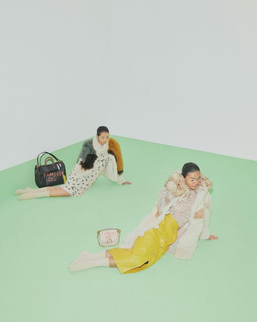 Natalie Prabha and Nia Atasha cover L'Officiel Singapore October 2020 by Chuan Looi