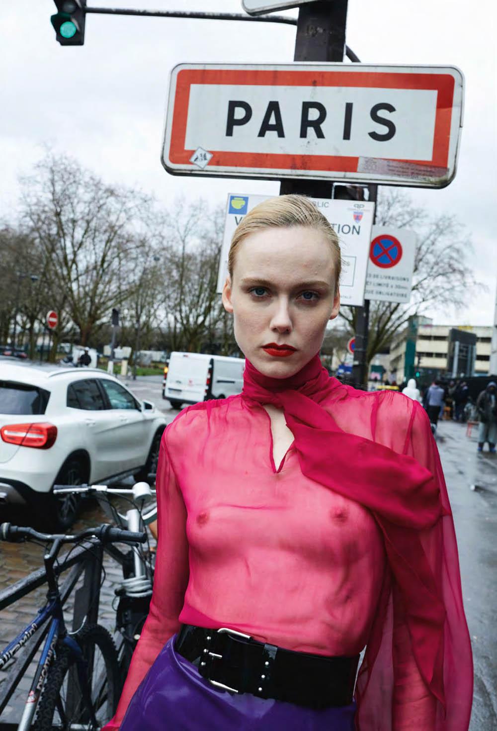 ''Paris Match'' by Juergen Teller for British Vogue October 2020