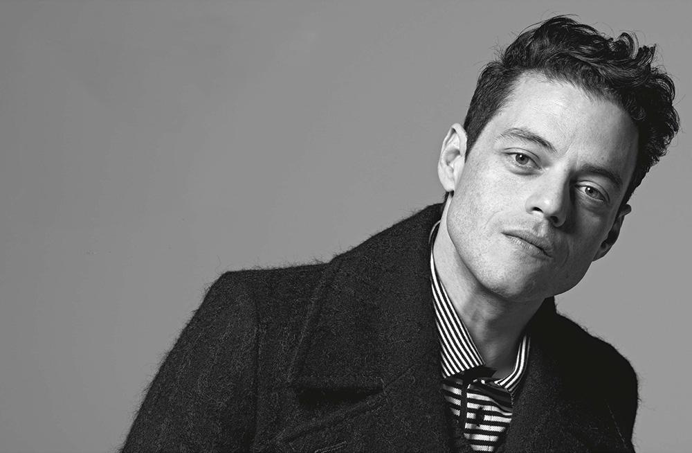 Rami Malek covers L'Uomo Vogue October 2020 by Brigitte Lacombe
