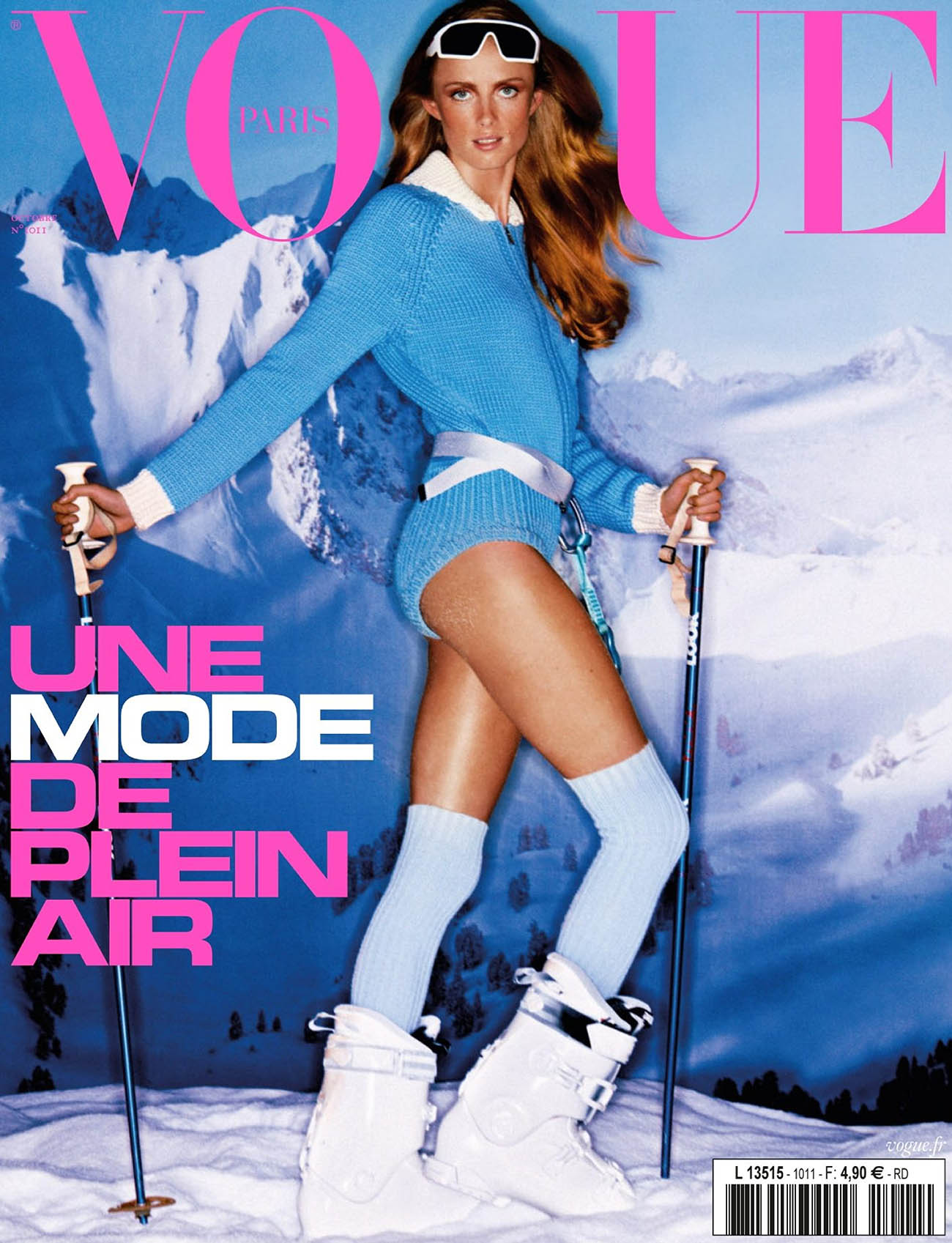 Rianne van Rompaey covers Vogue Paris October 2020 by Carlijn Jacobs