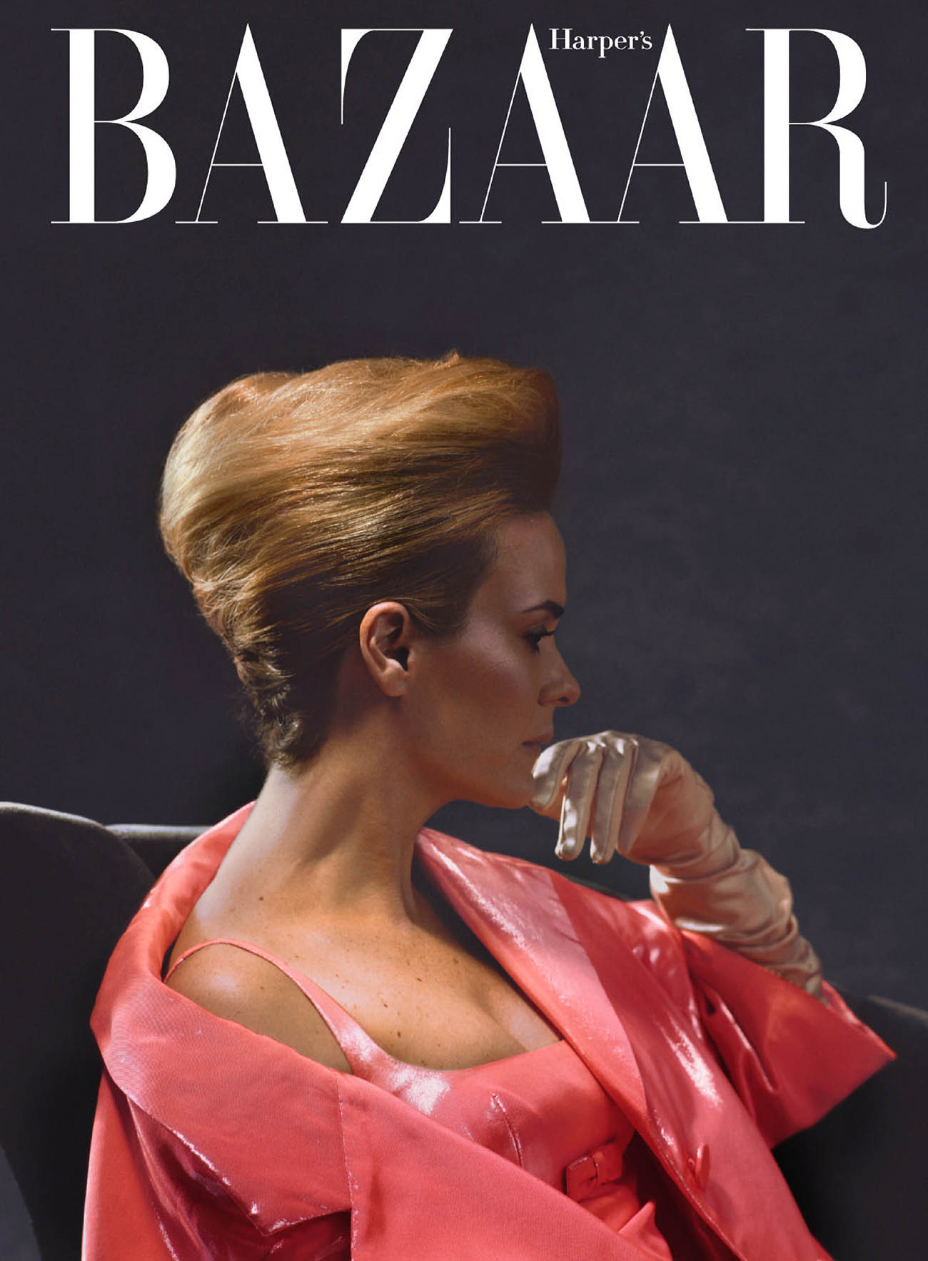Sarah Paulson covers Harper's Bazaar US October 2020 by Sam Taylor-Johnson