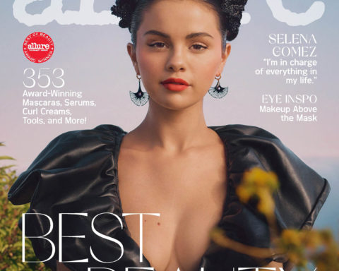 Selena Gomez covers Allure US October 2020 by Micaiah Carter