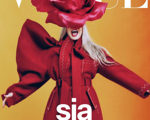Sia covers Vogue Australia October 2020 by Micaiah Carter