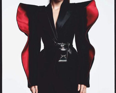 Vittoria Ceretti by Luigi & Iango for Vogue Japan October 2020