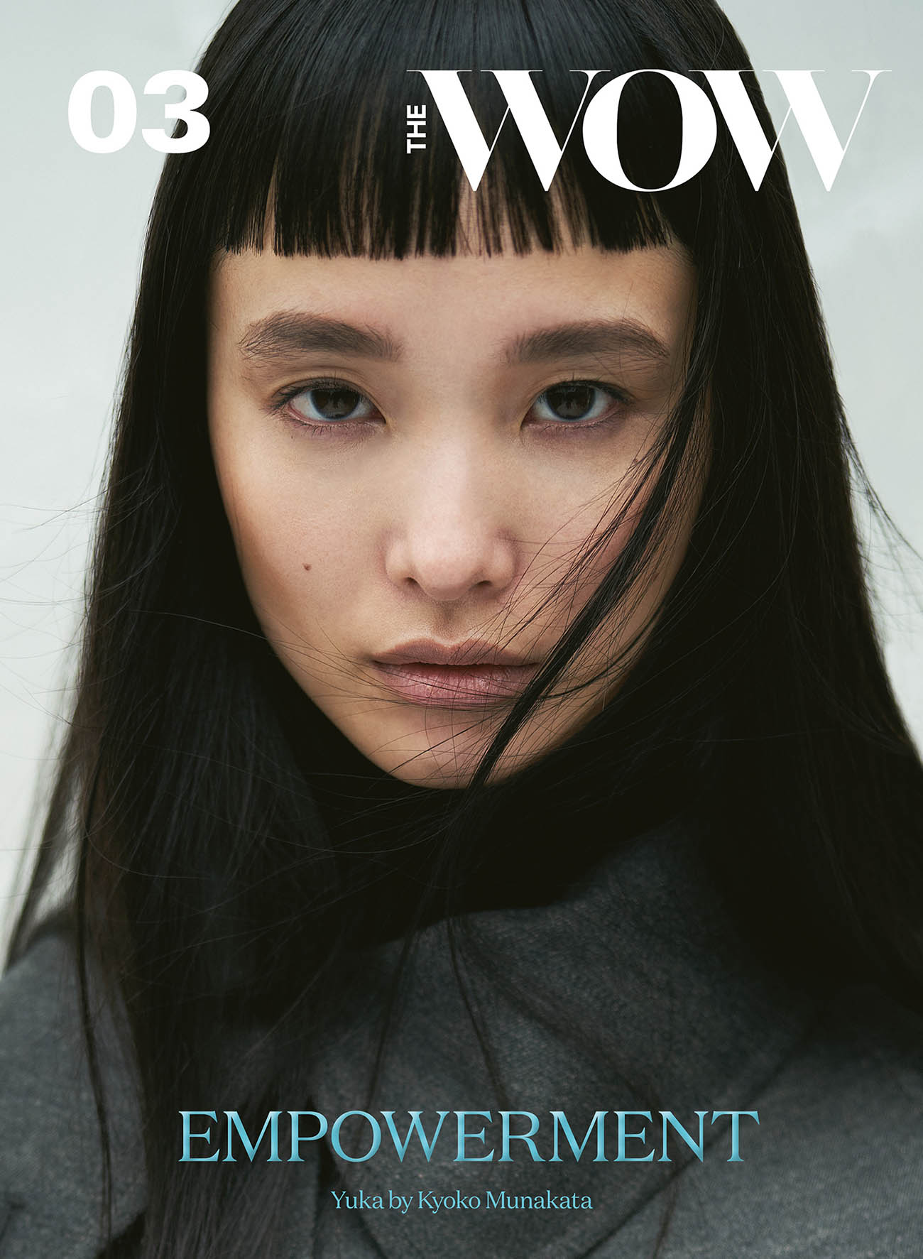 Yuka Mannami covers The WOW Magazine Issue 3 2020 by Kyoko Munakata